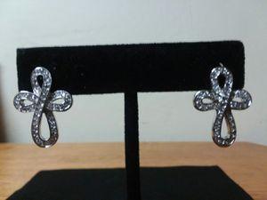 925 Diamond Cut Earrings (Stamped) for Sale in Bakersfield, CA