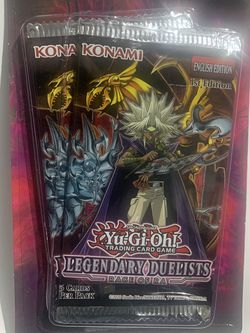 2x Yu-Gi-Oh! Legendary Duelists Rage Of RA Blister Booster Pack! for Sale in Los Angeles,  CA