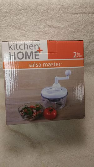 Brand New food chopper and egg white seperator . Salsa Master. for Sale in East Providence, RI