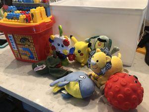 Kids toys, blocks, plush for Sale in Oakland Park, FL