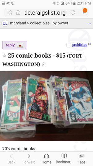 Comic Books for Sale in Fort Washington, MD