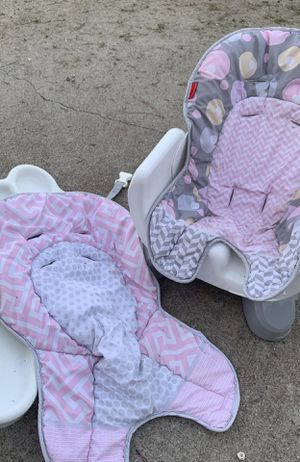 Childs Booster Seat With Two Covers Convertible for Sale in Chesapeake, VA