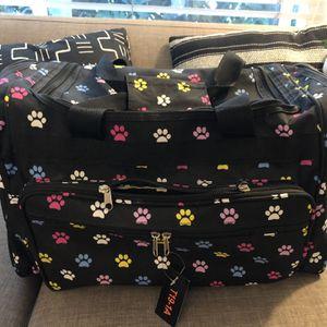 Dog pet gift Set Travel Bag Carrier Etc for Sale in Costa Mesa, CA