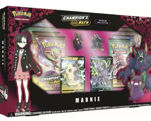 Pokemon Champion's Path Premium Collection Marnie Collection New Sealed in stock for Sale in Orlando, FL