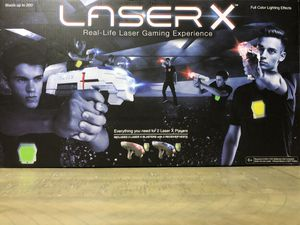 Laser X Two Player Laser Tag for Sale in Cleveland, OH