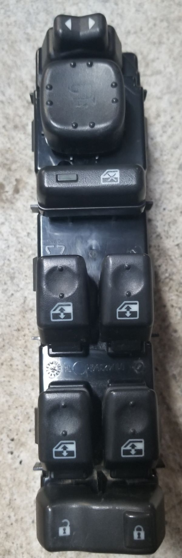Used GM OEM 03 - 06 4 Window, Door Lock, Mirror Control For Driver Side! ONLY $40!