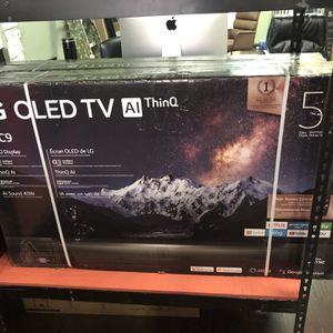 LG 55 inch OLED 4K TV C9 Oled55C9p HDMI 2.1 Ps5 Ready black Friday sale for Sale in Jurupa Valley, CA