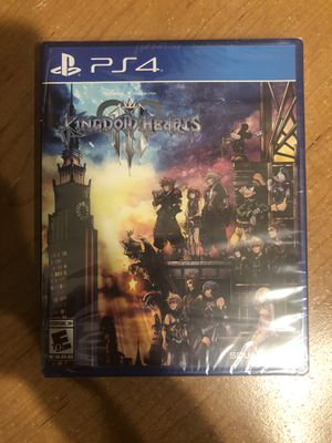 Kingdom hearts 3 PS4 brand new sealed for Sale in Fresno, CA