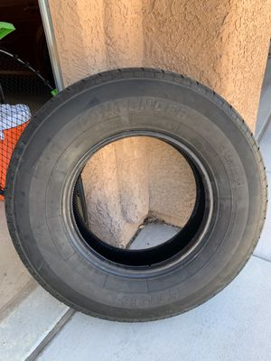 2- Trailer tires ST235 80 R16 only 150 miles on them. for Sale in Henderson, NV