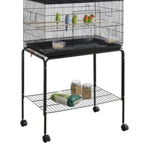 Rectangle Bird Cage w/ Detachable Stand for Sale in Los Angeles, CA