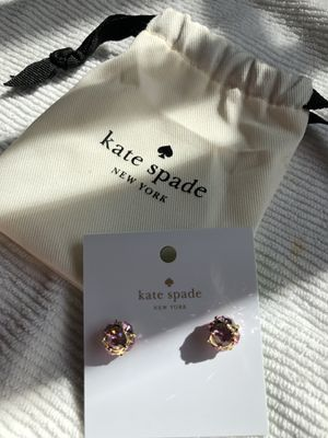 Kate Spade ♠️ Earring light pink on gold color for Sale in Laguna Niguel, CA