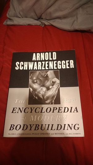 Arnold Schwarzenegger The New Encyclopedia of Modern Bodybuilding for Sale in Anaheim, CA