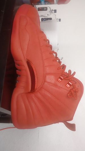 Jordan 12's all red size 9/10 for Sale in St. Petersburg, FL