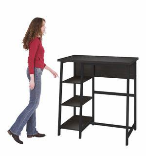 NEW Espresso Standing Computer Desk, READ DESCRIPTION for Sale in Las Vegas, NV