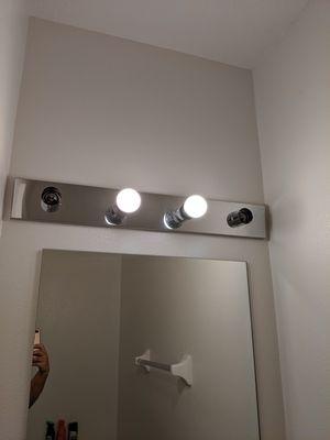 Vanity light fixtures for Sale in Zephyrhills, FL