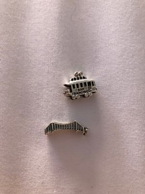 Sterling San Francisco charm set for Sale in San Diego, CA