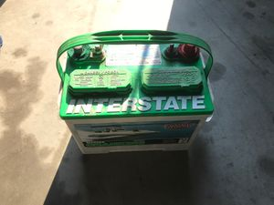 Interstate marine Cranking battery for Sale in Fresno, CA