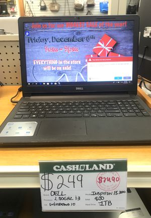 Dell laptop for Sale in Garfield Heights, OH