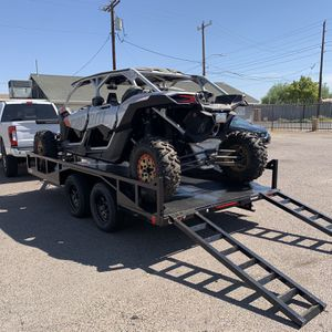UTV Trailer, Side By Side , Can Am X3, Custom Made Trailer for Sale in Scottsdale, AZ