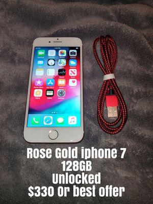 iPhone 7 unlocked for Sale in Santa Maria, CA