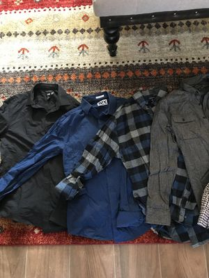 19 pc Men's clothing bundle for Sale in Long Beach, CA