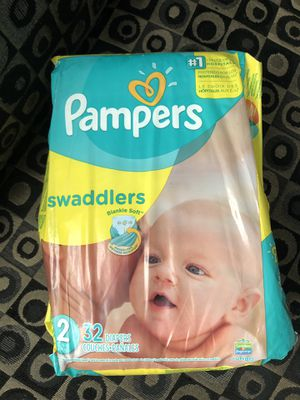 Pampers Swaddler Diapers size 2 for Sale in Pasadena, TX