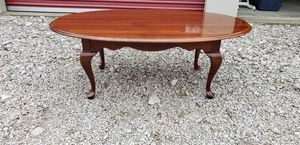 Ethan Allen Mahogany Wood Coffee Table for Sale in Lorain, OH