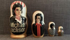Michael Jackson Nesting Doll for Sale in Brooklyn, NY
