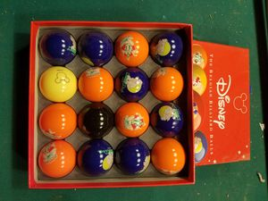 Disney billiard balls for Sale in Colorado Springs, CO