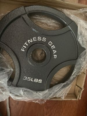 35lbs Set Of Weighted plates for Sale in Hayward, CA