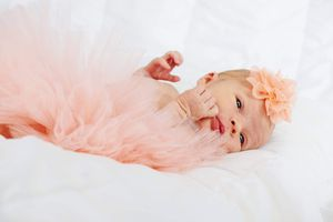 Pink newborn photo shoot tutu & headband for Sale in Middletown, CT