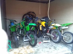 Any junk bikes and any part for dirt bikes mostly sale for Sale in Chicago, IL