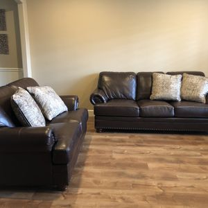 Couch And Loveseat With Pillows for Sale in Vancouver, WA