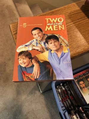 Two And A Half Men The Complete Fifth Season DVD S5 five 5 Box Set Charlie Sheen for Sale in Buena Park, CA