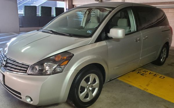 2008 NISSAN QUEST MOTOR Y TRANSMISSION CORRE AL 100% TITULO LIMPIO {contact info removed}