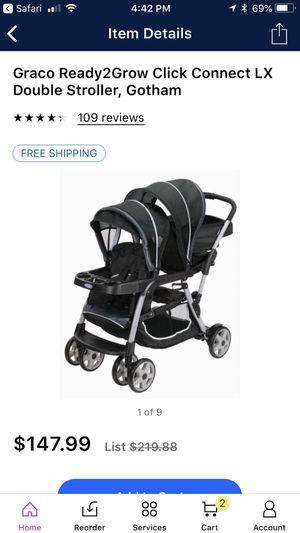 double stroller for Sale in Hammonton, NJ
