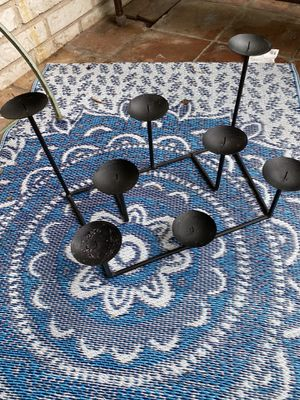 Fireplace Wrought Iron Candle Holder for 8 for Sale in San Antonio, TX