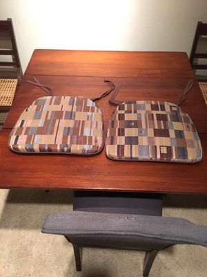 Pair of Chair Cushions for Sale in Herndon, VA