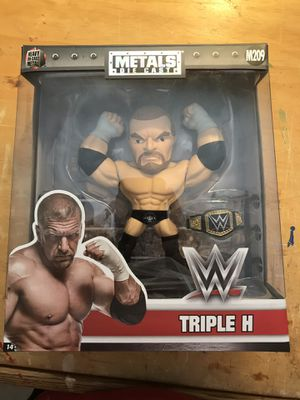 "WWF Triple H 6"" Figure Metals Die Cast Jada Toys for Sale in Tempe, AZ"