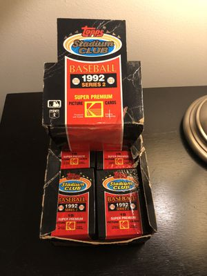32 Sealed Packs of Baseball Cards - Vintage Stadium Club for Sale in Brooklyn, NY