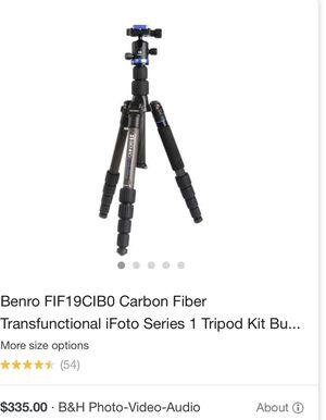 Tripod Brand new Benro Carbon Fiber for Sale in Phoenix, AZ