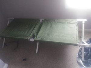 2 army cots for Sale in West York, PA