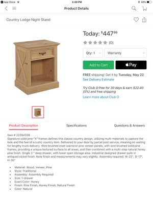 Home Styles Furniture for Sale in Dallas, TX