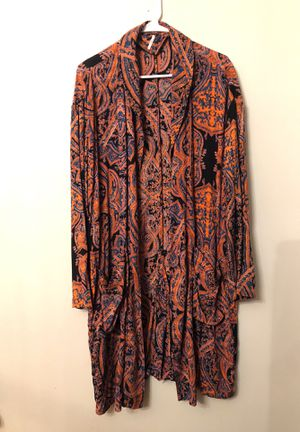 Free People NEW never worn - cardigan robe- size small- relaxed flowy fit for Sale in Moon, PA