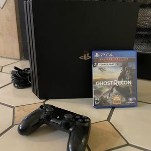 PS4 Pro + Ghost Recon for Sale in Henderson, NV