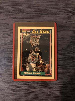 Jordan vintage topps all star card for Sale in Culver City, CA