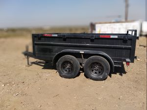 Dump trailer..7 x 10 bill of sale ..2,500.serious buyers..don't waste my time... for Sale in Palmdale, CA