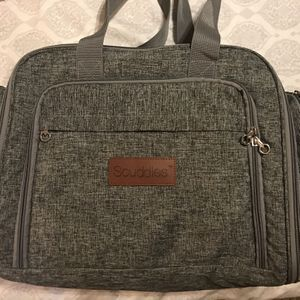 Scuddles Diaper Bag / Changing Station / Foldable Bed for Sale in Houston, TX