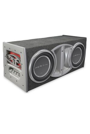 """rockford fosgate punch 12"""" inch subwoofers with enclosed box for Sale in Montebello, CA"""