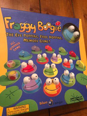 Froggie Boogie - wooden memory game for Sale in Buckeye, AZ
